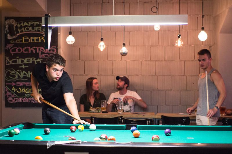wombat's CITY HOSTEL Wien Am Naschmarkt, Billiard