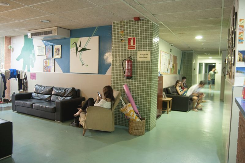 Barcelona, Be Dream Hostel - Lobby